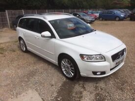 2011 [61] VOLVO V50 1.6 DIESEL SAT NAV LEATHER £0 ROAD TAX