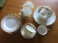Vintage Queens china tea set