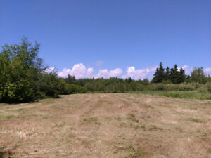 Large beautiful waterview building lot for sale in Western PEI.