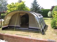 Outwell 2011 Wolf Lake 7 PolyCotton tent AND side extension AND many accessories