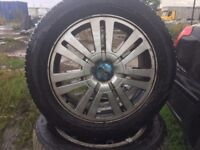 """Genuine Ford 16"""" Alloys Wheels, Set of 4. FORD FOCUS, FORD TRANSIT CONNECT, FORD MONDEO"""