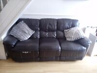 2 and 3 seater recliner couches
