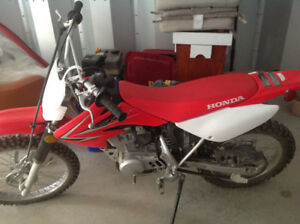 2009 Honda CRF dirt bike