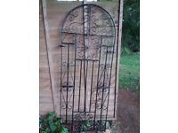 Very attractive wrought iron gate