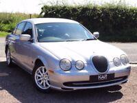 Jaguar S-Type 3.0, Automatic, Silver, 2001 / Y Reg, Only 84k Miles
