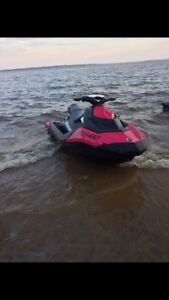 SEA DOO SPARK 90 H.O. KIT BLANC ou ROSE Trailer INCLUS