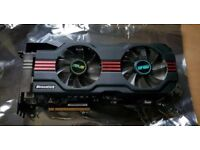 GeForce GTX 680 Asus DirectCU II fast graphic card