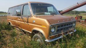 Wanted: Parts and advice 1977 Ford Econoline Van