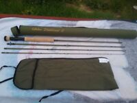 NEW 9FT 6 CABELAS TRADITIONAL II FLY ROD LINE WEIGHT #7