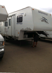 2009 Springdale Fifth Wheel With Bunks