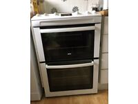 Zanussi double oven gas cooker