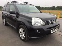 BARGAIN! Nissan x trail 4x4, full years MOT, awaiting preparation