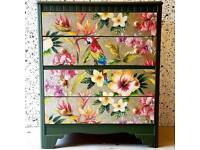 Upcycled vintage chest of drawers £130