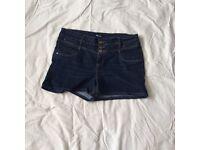 Size 20 denim shorts