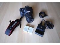 Great Canon EOS 700D bundle with 18-55mm lens, extra battery and still in warranty - no box.