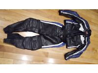 Hein gericke psxr leather jacket size 56 and trousers size 50