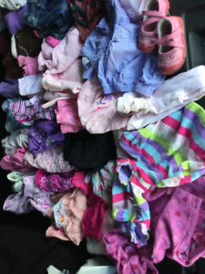 Baby girl clothing, 12-18 months, good condition, smk free, bag7