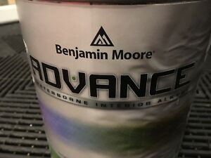 Benjamin Moore Advance Paint (Semi Gloss)