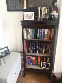 Antique bookshelf book case