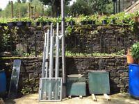 Aluminium Lean To Greenhouse 10 x 6