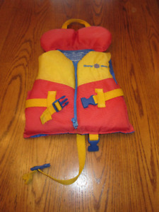 Life Jacket for child up to 30lbs