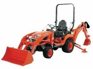 WANTED!!! Compact Tractor With Loader And Backhoe