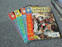 GAMES WORKSHOP MAGS Nos 205-277. Jan 1997-Jan 2003. £29 for the lot