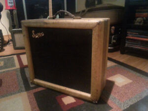 "1956 SUPRO ""Brentwood""  Tweed  amp . fender,gibson, national"