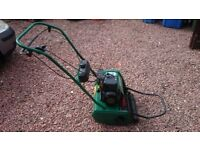 Qualcast Classic 35S Self Propelled Petrol Cylinder Lawn Mower