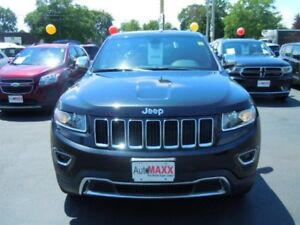 2016 JEEP GRAND CHEROKEE LIMITED- SUNROOF, REAR VIEW CAMERA, BAC