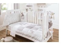 Dorma Bunny Meadow Nursery Bedding Set