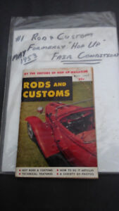 #1 Rods and Customs Car Magazine (May, 1953)