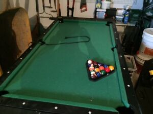 Table de pool et air hockey