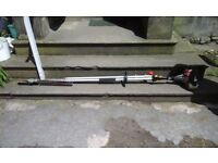 Maxtra long reach petrol hedge cutter with extra pole