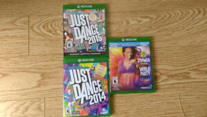 Jeux Just Dance/Zumba pour console XBOX One