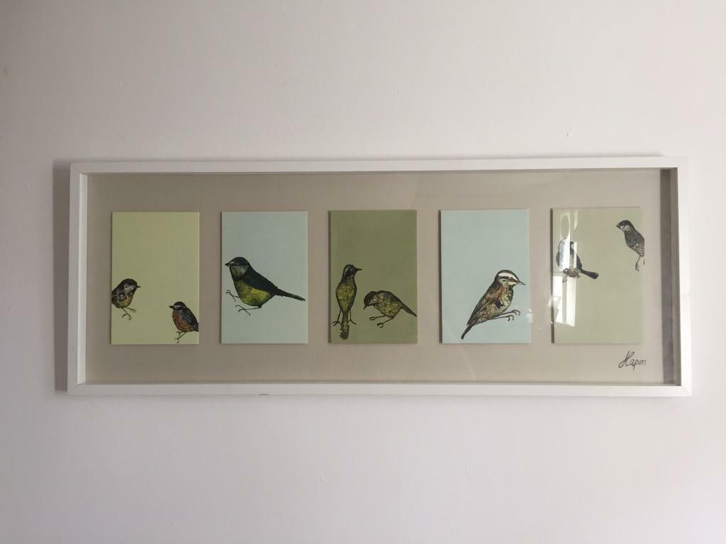 bird picture frame ikea in brixton london gumtree. Black Bedroom Furniture Sets. Home Design Ideas