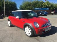 Very Nice Mini LOOKS GREAT IN RED WITH With white wheels and red interior MUST SEE.....