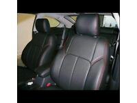 LEATHER CAR SEATCOVERS SEAT COVERS TOYOTA PRIUS FORD GALAXY VOLKSWAGEN SHARAN SHARON VW MERCEDES BMW