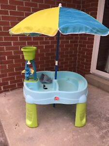 Step 2 Sand & Water Table
