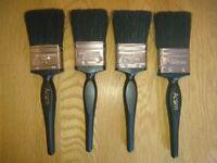 Hamilton Acorn British Made Quality 4 Paint Brush Pack 50mm New