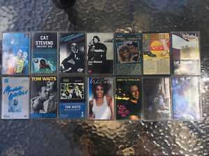 Assorted Cassette Tapes