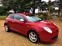 ALFA ROMEO MITO 1.6 JTDM Veloce, FSH, MOT March 2018, Excellent all round (red) 2009