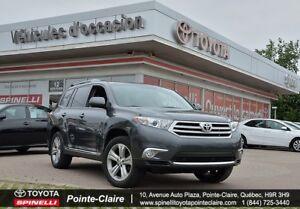 2013 Toyota Highlander SPORT 4WD MAGS ROOF LEATHER!!!!!!!