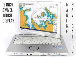 12 INCH TOUCHSCREEN MARINE NAVIGATION SYSTEM + CHARTS + GPS