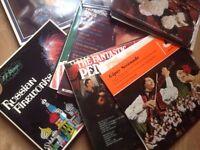 Joblot: Vinyls - Classical and pop genre