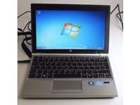 HP Elitebook 2170p laptop 320gb hd 4gb or 6gb or 8gb ram Intel Core i5 - 3rd generation processor