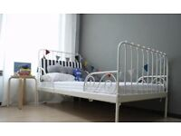 Ikea Minnen Extendable toddler or single bed frame, excellent condition
