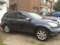 Honda Crv 2.2 very good condition sat nav.MOT until may2018