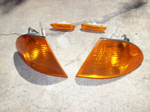 BMW E 46, 2001, turn signal lenses, front