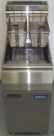New Gas 1 Pan 2 Basket Fryer Hire/Buy over 4 Months using Easy Payments